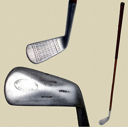 Diamond-back mashie