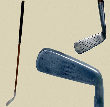 Sayers wryneck putter