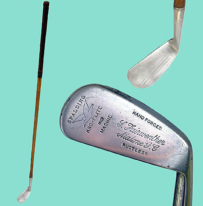 Kroflite mid-mashie for Fairweather