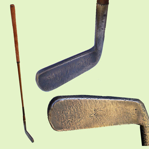 Early brass putter