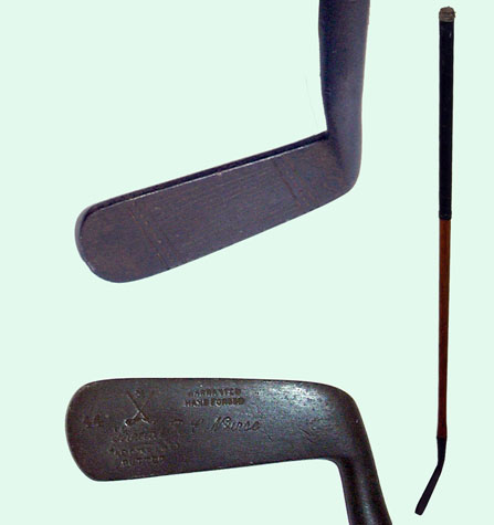 Halley putter for R E Nurse