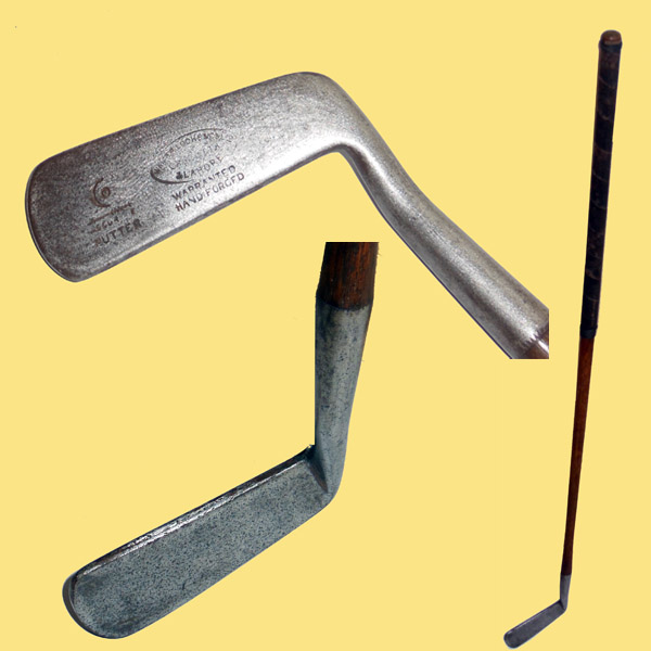 Carnoustie smooth-faced putter for India