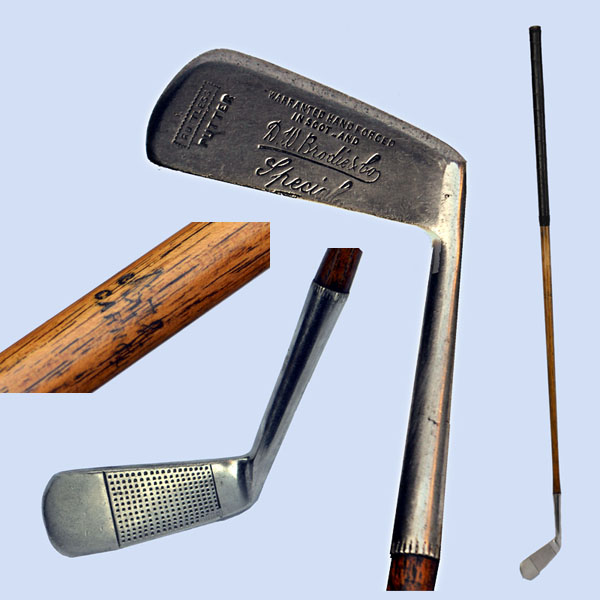 Rustless Anstruther putter from Carnoustie