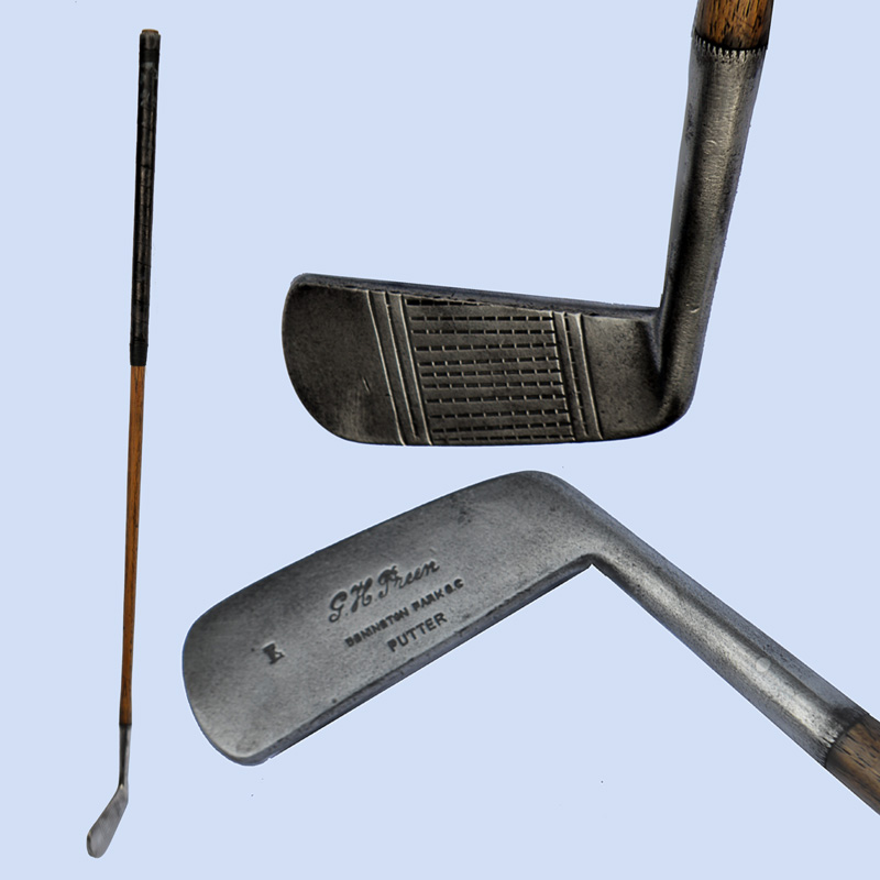 Late hickory-era putter