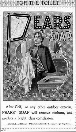 1897 Pears' Soap Ad
