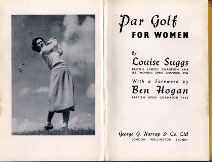 Par Golf for Women by Louise Suggs