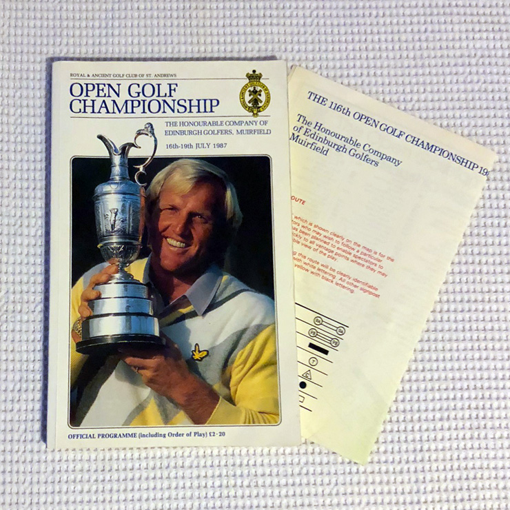 1988 Open Championship Programme