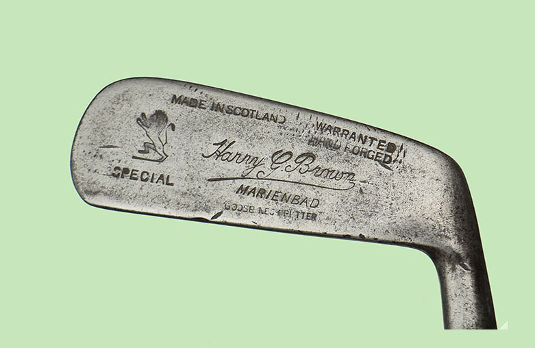 A Marienbad putter from the 1920s