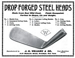 Second J H Williams drop-forged advertisement